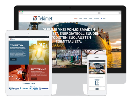 WordPress - Tekimet.fi